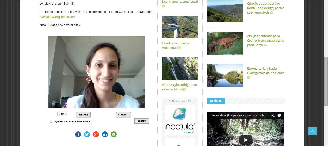 curriculum-vitae-cv-sofia vídeo cv