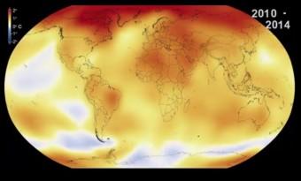aquecimento global 2014