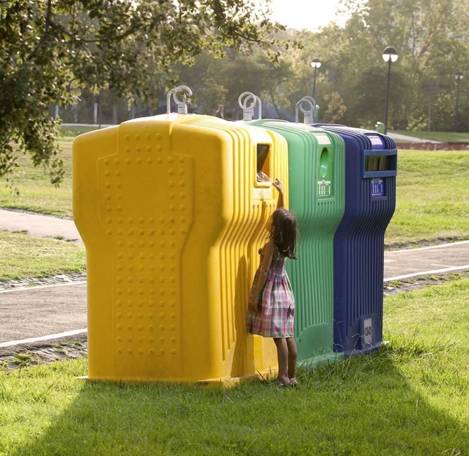 ecoponto embalagens reciclagem spv