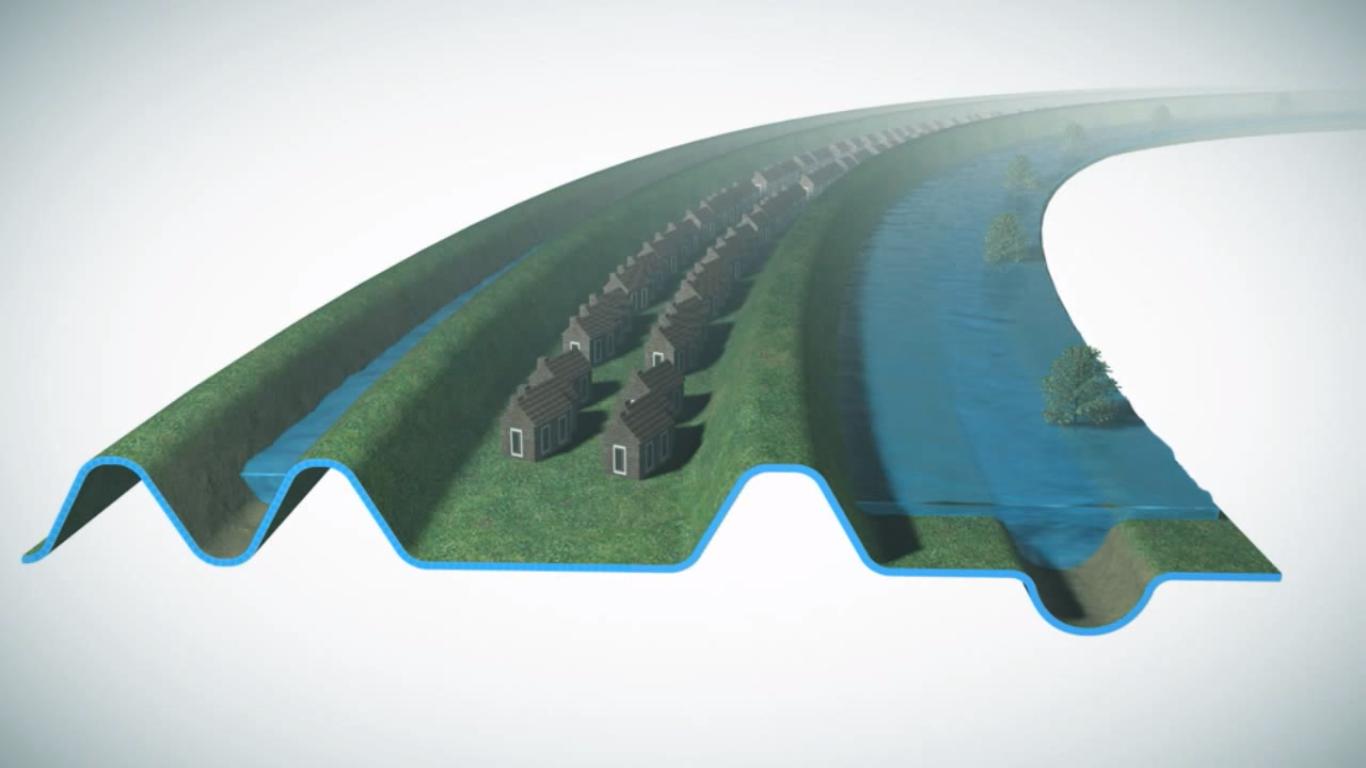 infraestrutura verde canal holanda