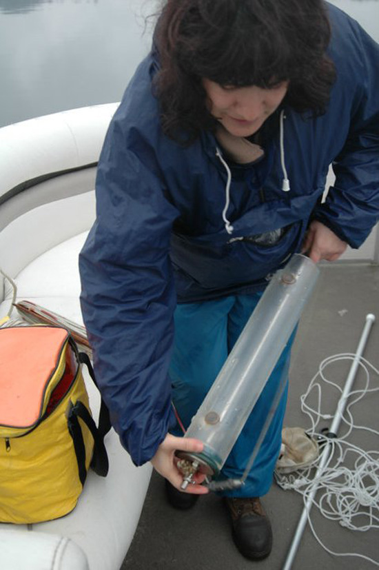 Monitorização de Fitoplâncton e Zooplâncton Garrafa Kernel NOCTULA zooplancton recolha amostras compostas