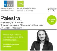 Palestra-Pedro-Silva-Santos monitorização de sistemas ecológicos