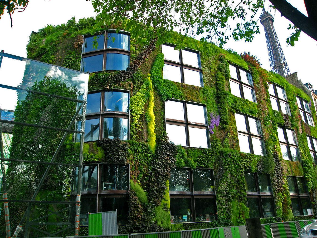 parede viva infraestrutura verde quai branly musee